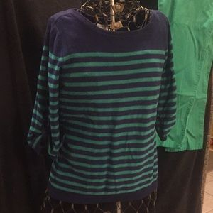 Coldwater Creek Size S 3/4 sleeve sweater